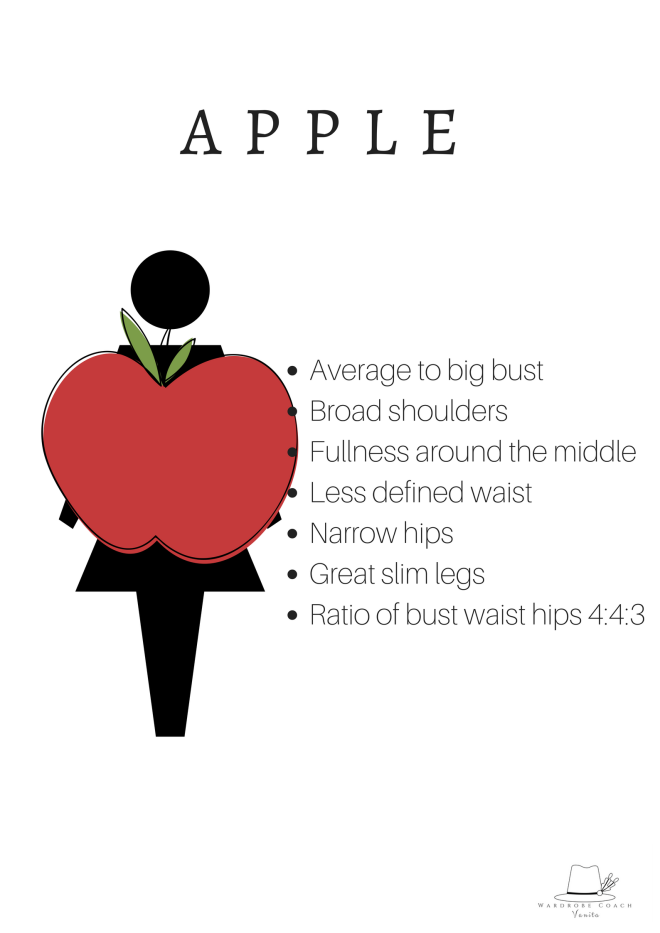 You are apple shaped if..