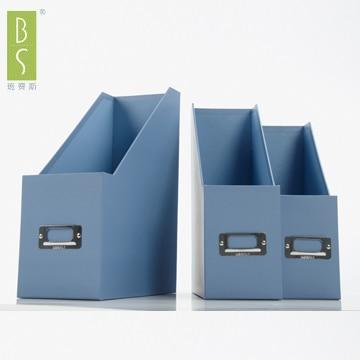 File-holder-books-file-column-data-rack-file-box-desktop-storage-box-triangle-set